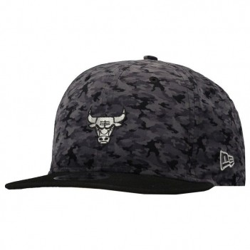 Boné New Era NBA Chicago Bulls 950 Fit Preto