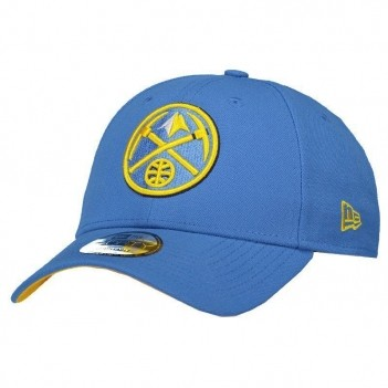 Boné New Era NBA Denver Nuggets 940 Azul e Amarelo