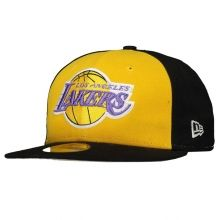 Boné New Era NBA Los Angeles Lakers 5950 Preto