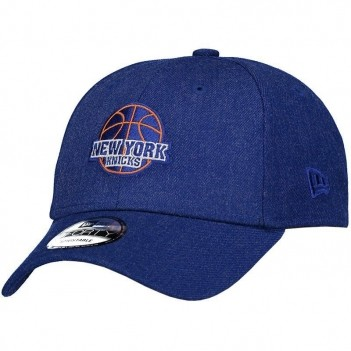 Boné New Era NBA New York Knicks 940 Azul Mescla