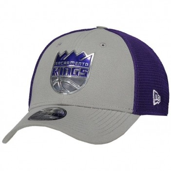Boné New Era NBA Sacramento Kings 3930 Cinza