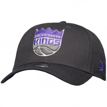 Boné New Era NBA Sacramento Kings 940 Chumbo e Roxo