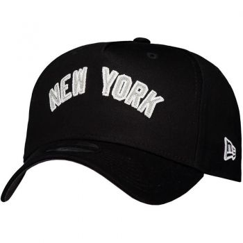 Boné New Era New York Yankees Escudo Preto