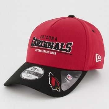 Boné New Era NFL Arizona Cardinals 3930 Vinho e Preto