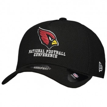 Boné New Era NFL Arizona Cardinals 940 Preto