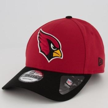 Boné New Era NFL Arizona Cardinals Vermelho e Preto
