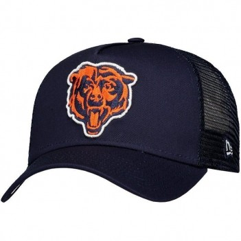 Boné New Era NFL Chicago Bears 940 Marinho