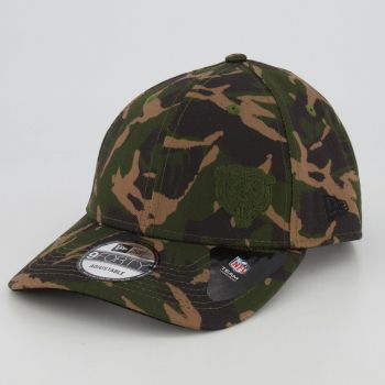 Boné New Era NFL Chicago Bears 940 Camuflado Verde
