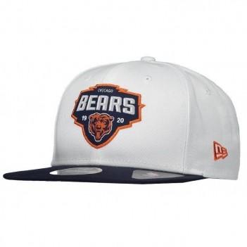 Boné New Era NFL Chicago Bears 950 Branco e Marinho