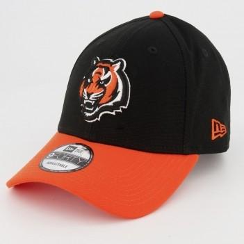 Boné New Era NFL Cincinnati Bengals 940 Preto e Laranja