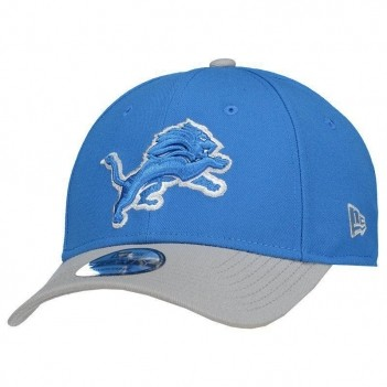 Boné New Era NFL Detroit Lions 940 Azul e Cinza