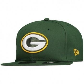 Boné New Era NFL Green Bay Packers 950 Com Patch Verde