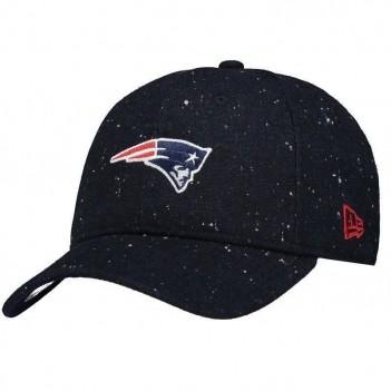 Boné New Era NFL New England Patriots Marinho Escudo