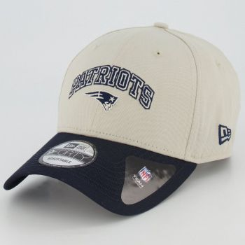 Boné New Era NFL New England Patriots 940 Bege
