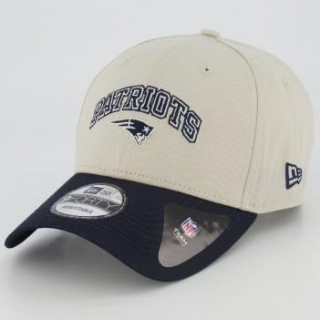 Boné New Era NFL New England Patriots 940 Bege
