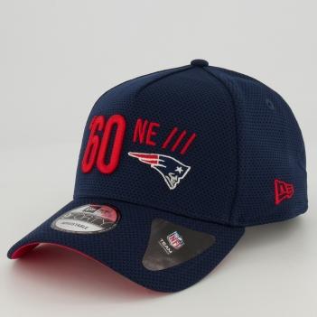 Boné New Era NFL New England Patriots 940 II Azul Marinho