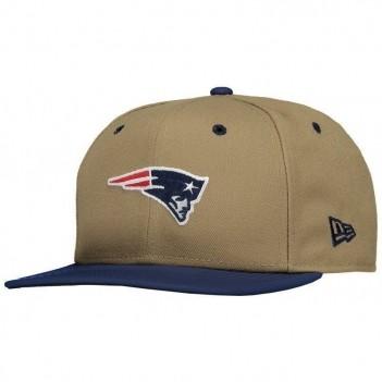 Boné New Era NFL New England Patriots 950 Bege