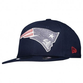 Boné New Era NFL New England Patriots 950 Logo Marinho