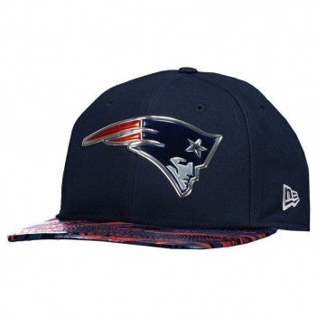 Boné New Era NFL New England Patriots 950 Marinho