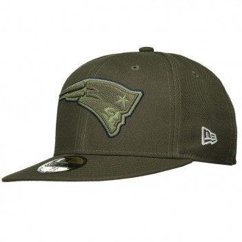 Boné New Era NFL New England Patriots Verde