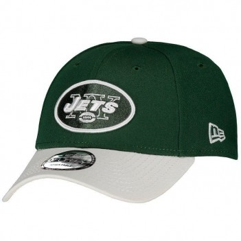 Boné New Era NFL New York Jets 940 Verde e Branco