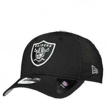 Boné New Era NFL Oakland Raiders 940 Preto e Branco