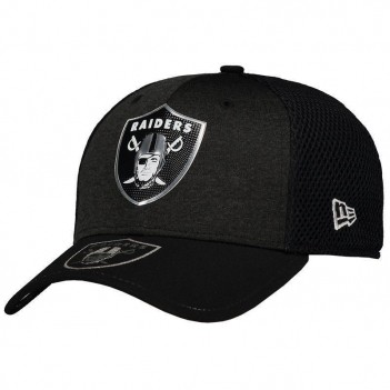 Boné New Era NFL Oakland Raiders Preto