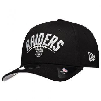 Boné New Era NFL Oakland Raiders 940 Preto e Cinza