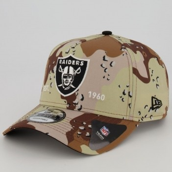 Boné New Era NFL Oakland Raiders 940 Marrom