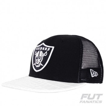 Boné New Era NFL Oakland Raiders 950 Preto