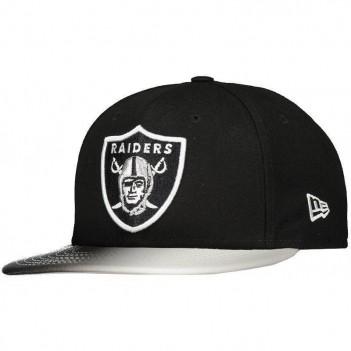 Boné New Era NFL Oakland Raiders 950 Preto e Cinza