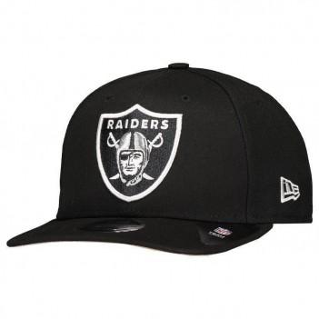 Boné New Era NFL Oakland Raiders 950 Preto e Branco