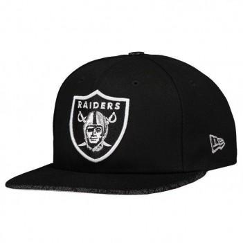 Boné New Era NFL Oakland Raiders 950 Escudo Preto