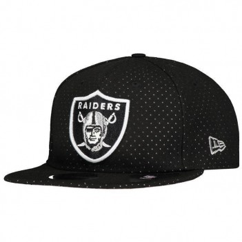 Boné New Era NFL Oakland Raiders 950 Preto Poá