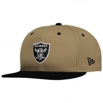 Boné New Era NFL Oakland Raiders 950 Bege