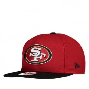 Boné New Era NFL San Francisco 49ers 950 Vermelho e Preto