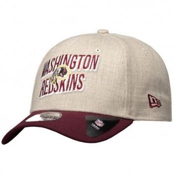 Boné New Era NFL Washington Redskins 940 Bege