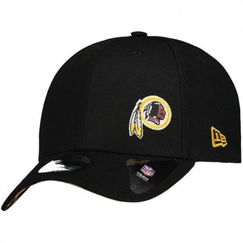 Boné New Era NFL Washington Redskins 940 Preto