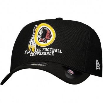 Boné New Era NFL Washington Redskins 940 Escudo Preto
