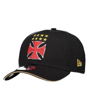 Boné New Era Vasco 940 Cruz de Malta Preto