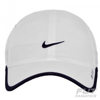 Boné Nike Feather Light Branco
