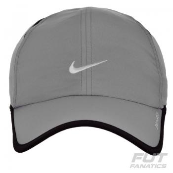 Boné Nike Feather Light Cinza