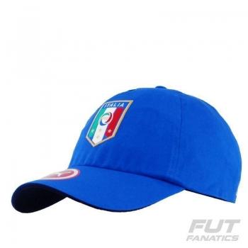 Boné Puma Itália Team Training Azul