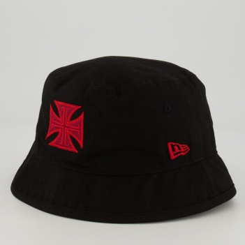 Bucket New Era Vasco da Gama Preto