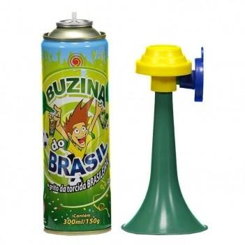 Buzina Brasil com Corneta 300ml