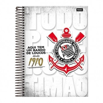 Caderno Foroni Corinthians Todo Poderoso 15 Matérias