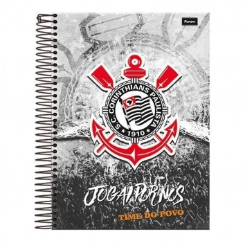 Caderno Foroni Corinthians Jogai Por Nós 15 Matérias