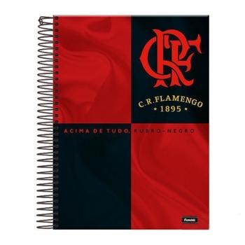 Caderno Foroni Flamengo Acima de Tudo 20 Matérias