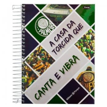 Caderno Foroni Palmeiras Canta E Vibra 10 Matérias