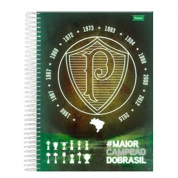 Caderno Foroni Palmeiras Escudo e Taça 15 Matérias